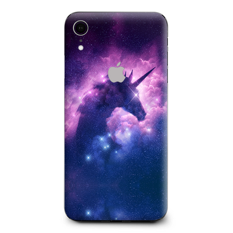 Unicorn Galaxy Cosmic Nebula Apple iPhone XR Skin