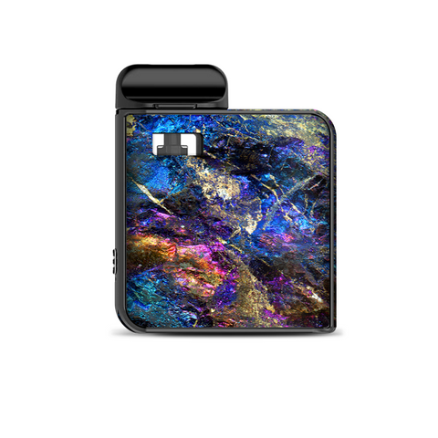 Chalcopyrite Colorful Purple Glass Rock Crystal Smok Mico Kit Skin