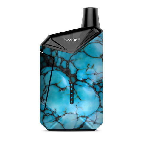 Blue Turquoise Stone Gem Rock Smok  X-Force AIO Kit  Skin