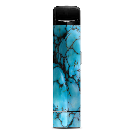 Blue Turquoise Stone Gem Rock Suorin Edge Pod System Skin