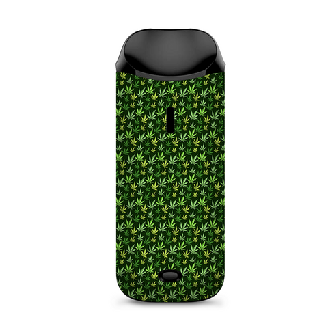 Pot Leaves Small Green Stoner Vaporesso Nexus AIO Kit Skin