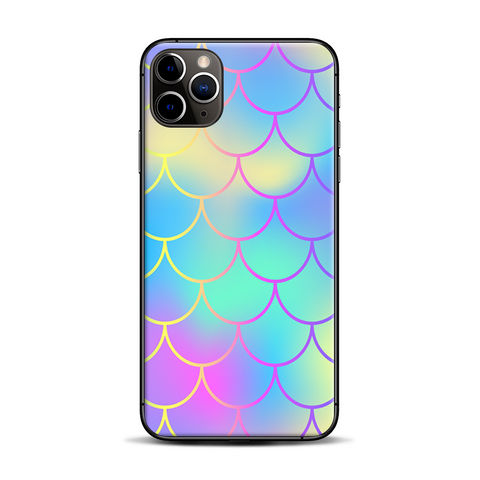 Pastel Colorful Mermaid Scales