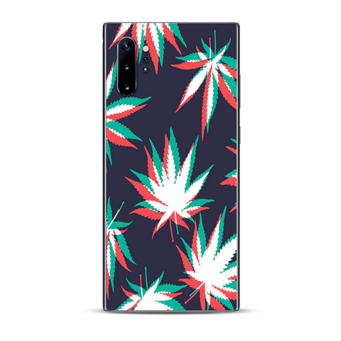 3D Holographic Weed Pot Leaf