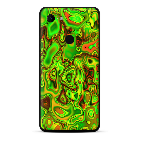 Green Glass Trippy Psychedelic