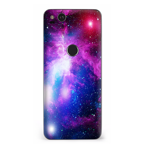 Stars Galaxy Red Blue Purple Gasses