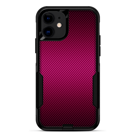 Pink,Black Carbon Fiber Look