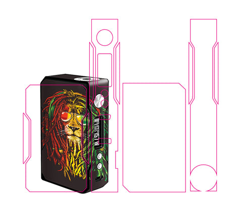 Custom Skin for Voopoo Drag