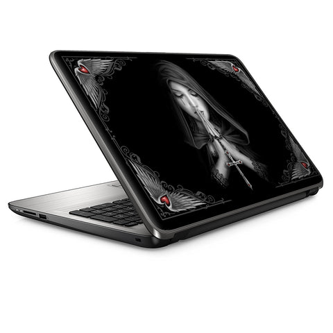 Anne Stokes Gothic Prayer Hands  Universal 15 inch laptop Skin