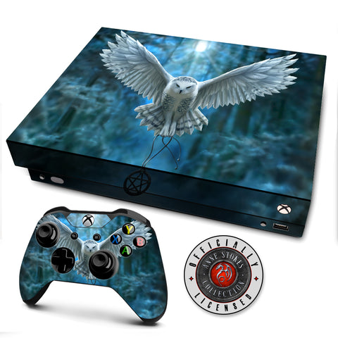 Anne Stokes Awake Your Magic | Skin Decal Vinyl Wrap for xBox One X Console & Controller