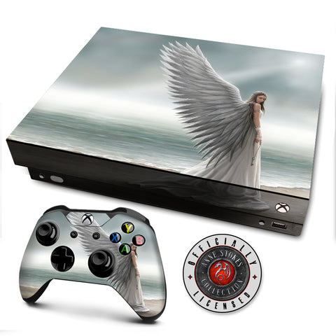 Anne Stokes Spirit Guide | Skin Decal Vinyl Wrap for xBox One X Console & Controller