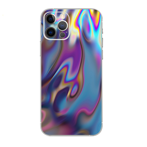 Opalescent Resin Marble Oil Slick