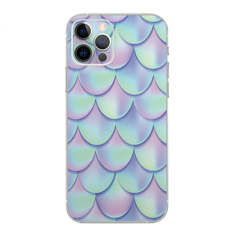 Mermaid Scales Blue Pink
