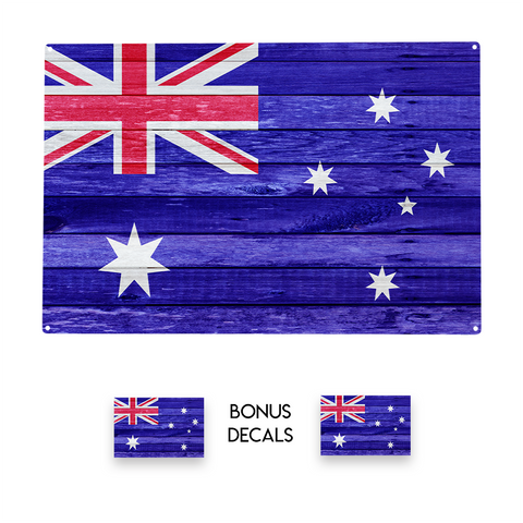 Austrailia Australian Flag Decorative Sign
