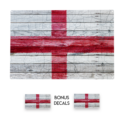 England Flag Decorative Sign