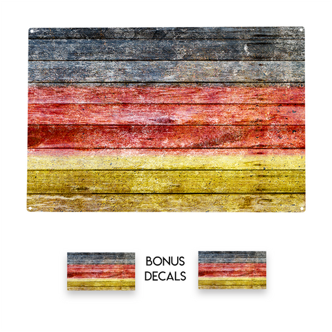 Germany Flag Decorative Sign