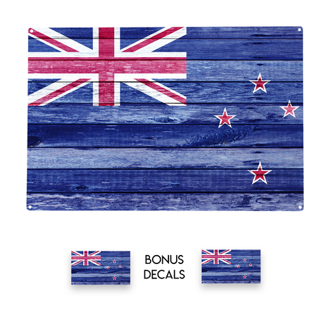 New Zealand Flag Decorative Sign