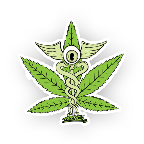 TROG Medical Marijuana Decal