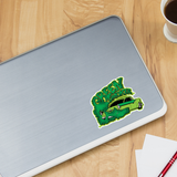 TROG Green Smoker Decal