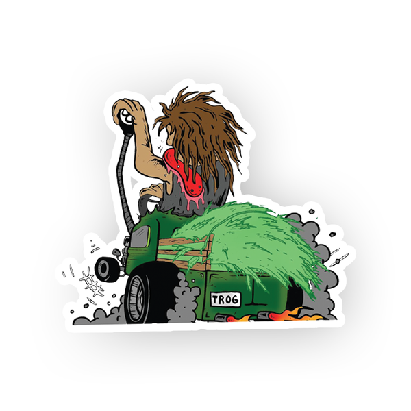 TROG Harvest Racer Decal