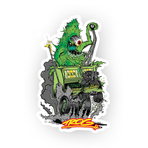 TROG Nug Monster Decal