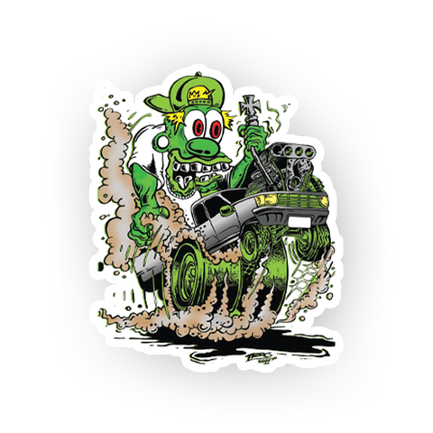 TROG Monster Racer Decal