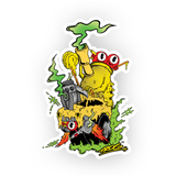 TROG Glob Hot Rod Decal