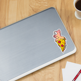 TROG Pizza Pig Decal