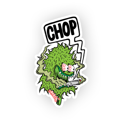 TROG Chop Nug Decal