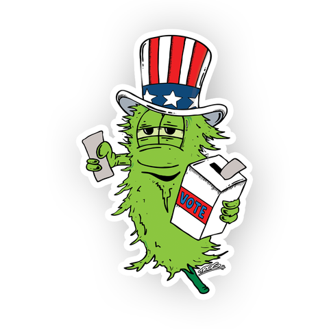 TROG Vote Decal