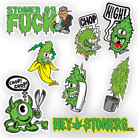 TROG Bud Decal Set
