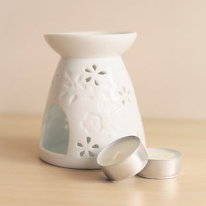 Butterfly & Flower Essential Oil Burner