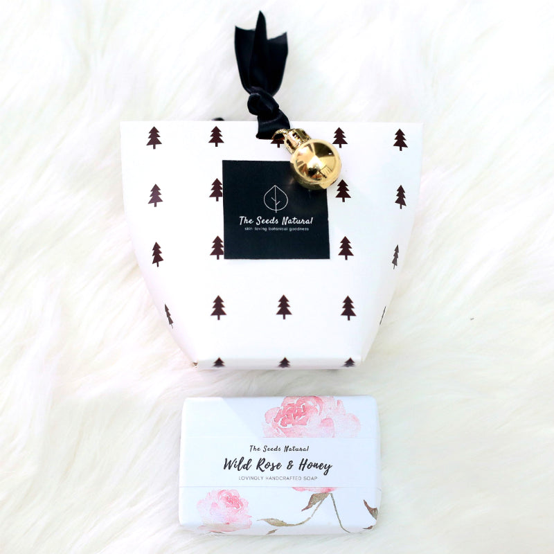 Christmas Soap Gift - Wild Rose & Honey