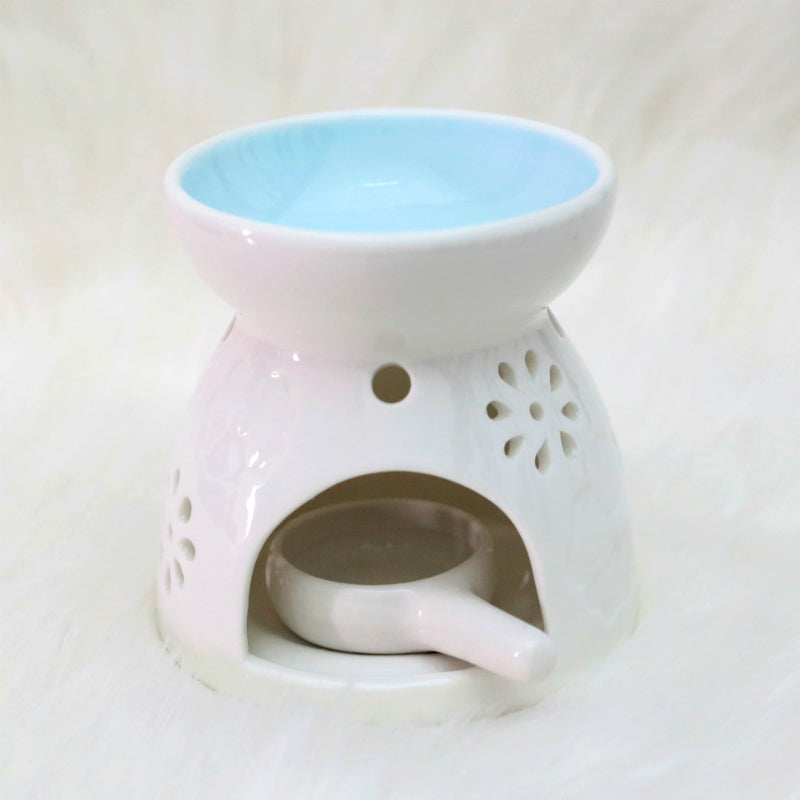 Blue Essential Oil Burner