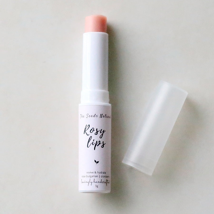 Rosy Lips - Natural Lip Balm