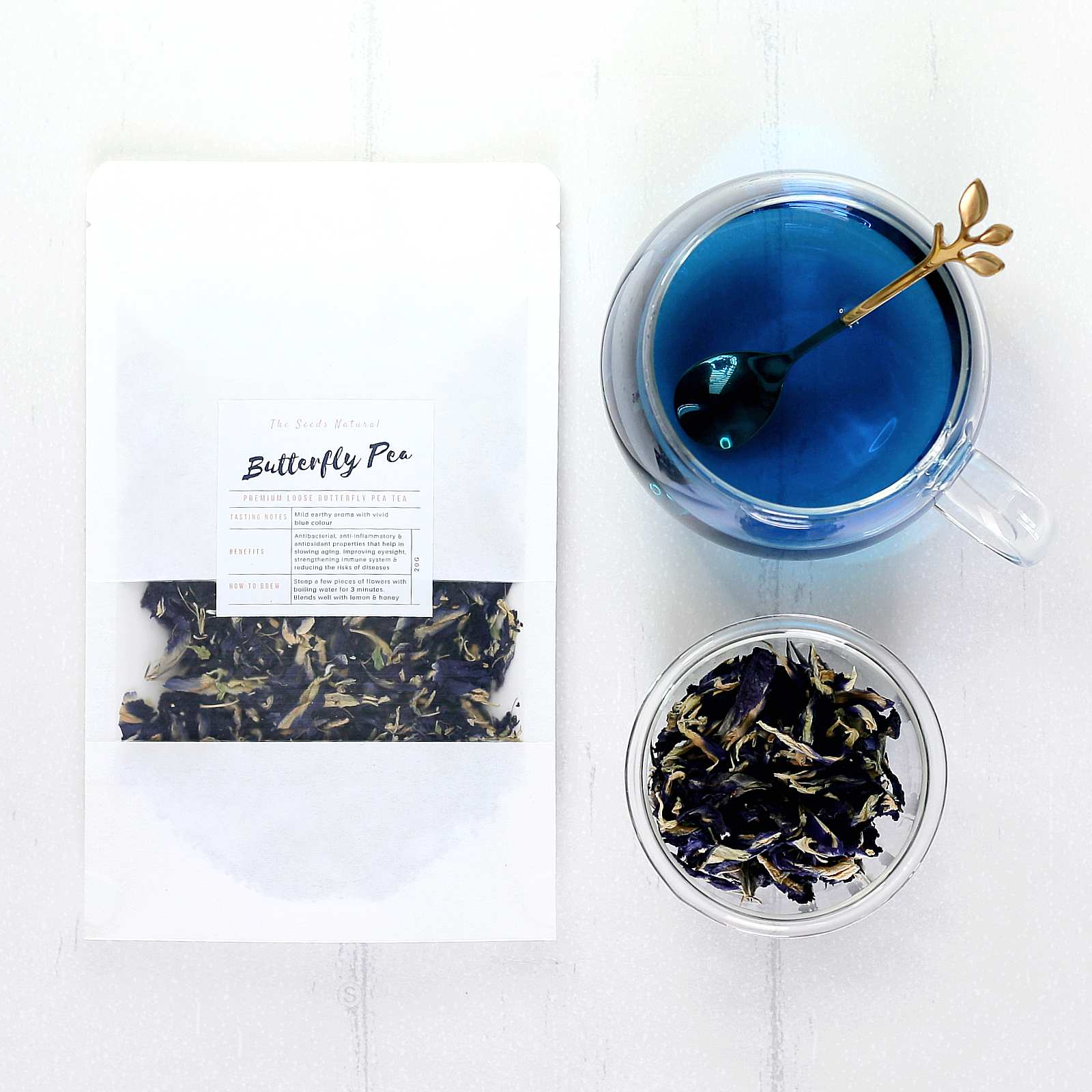 Organic Butterfly Pea Tea