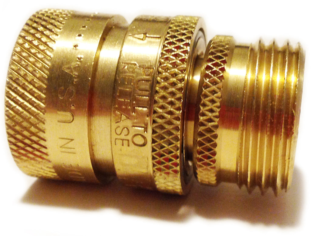 The Quick-Connect That Doesnu0027t Leak and is Guaranteed for Life!  sc 1 st  The Worldu0027s Best Brass Hose Nozzles & Garden Hose Quick-Connect That Doesnu0027t Leak and Is Guaranteed for ...