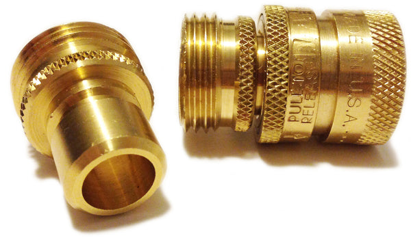 Quick Connect Fittings >> Garden Hose Quick-Connect That Doesn't Leak and Is ...