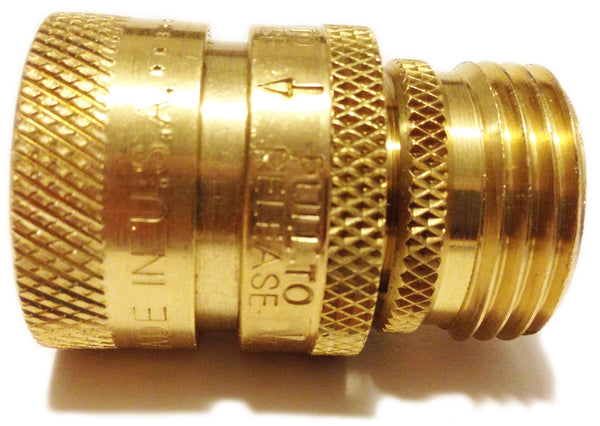 Garden Hose Quick Connect That Doesn 39 T Leak And Is Guaranteed For Life The World 39 S Best Brass