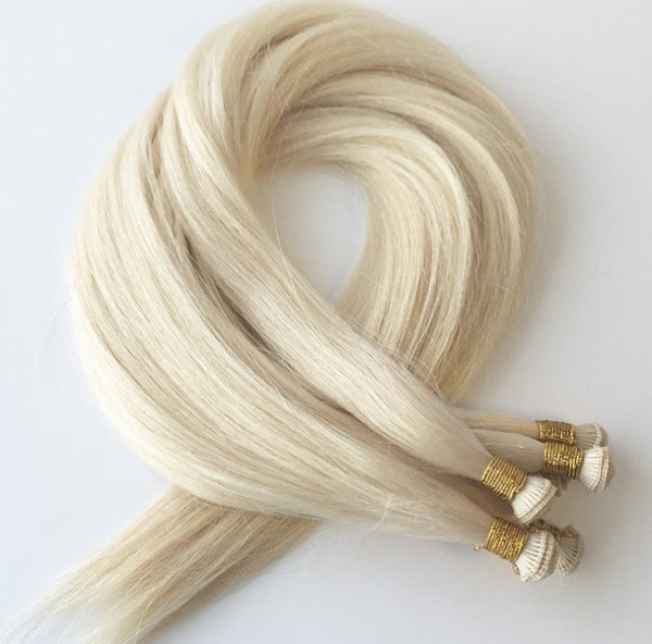 HAND TIED COUTURE WEFTS