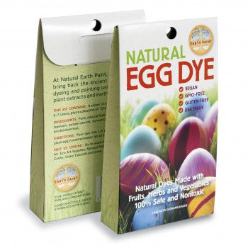 Ecopiggy Earth Paint Egg Dye Kit