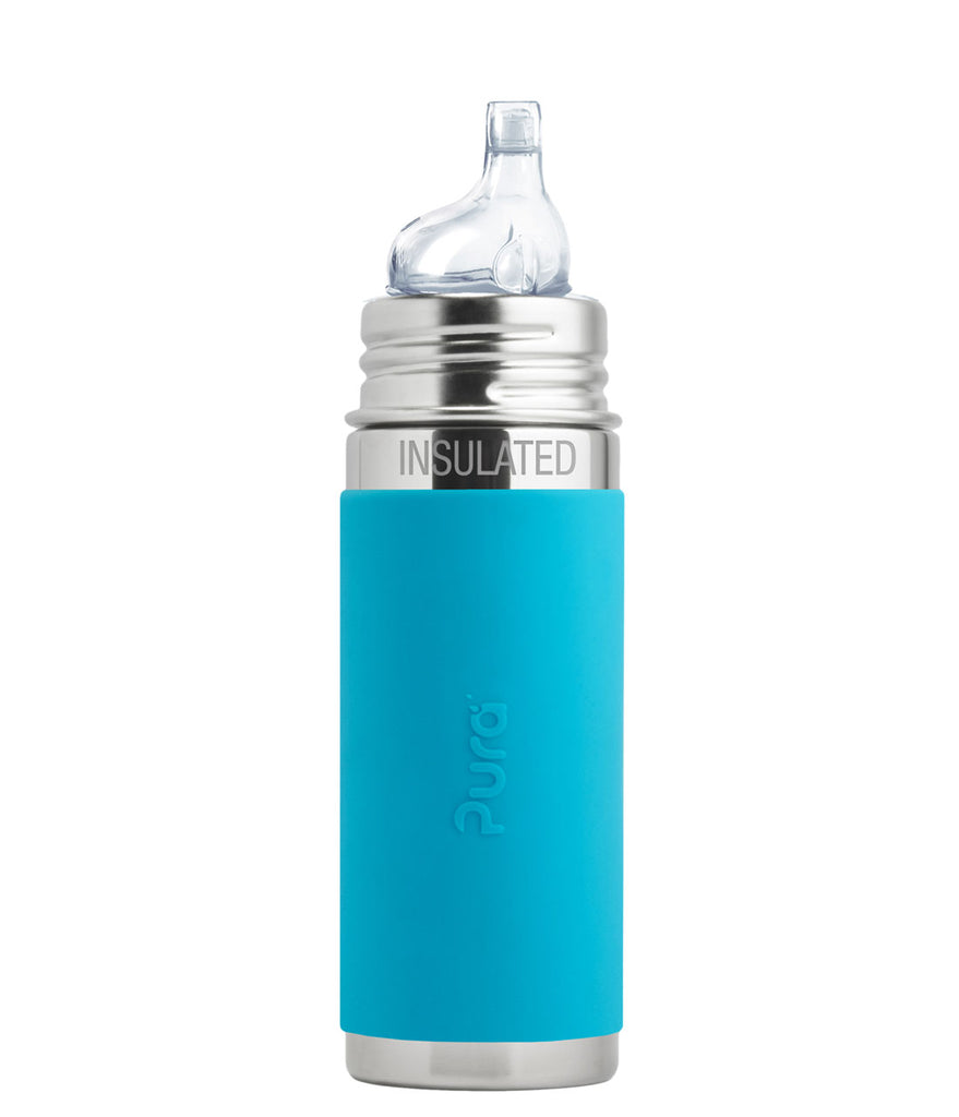 Pura - Stainless Steel Bottle Insulated Sippy 9 oz