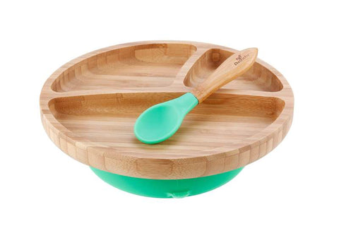 Avanchy Bamboo Toddler Plate