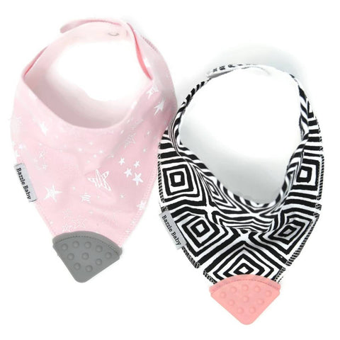 Bazzle Baby Teether Bib
