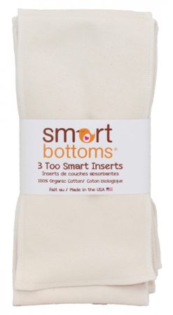 Smart Bottoms - Too Smart Organic Cotton Inserts 3 Pack
