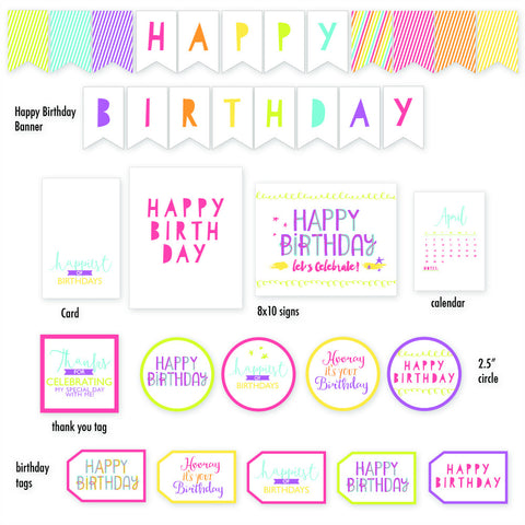 Birthday Printable Collection