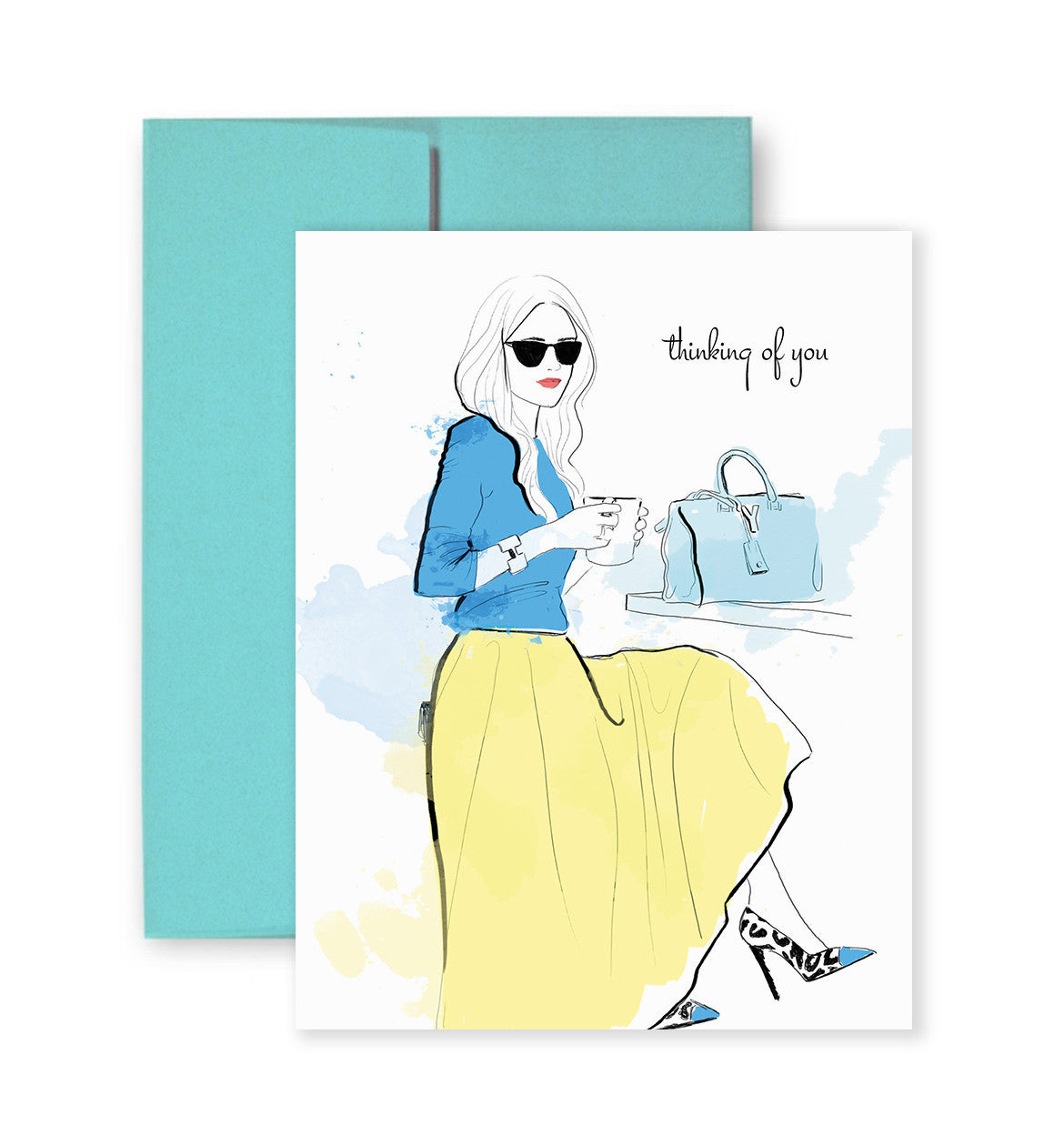 Greeting cards paper crush cafe thoughts greeting card kristyandbryce Image collections