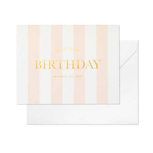 Happiest Birthday To You Card