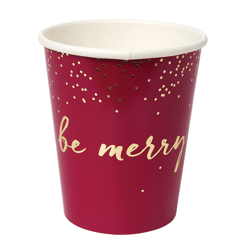 Be Merry Assorted Cups