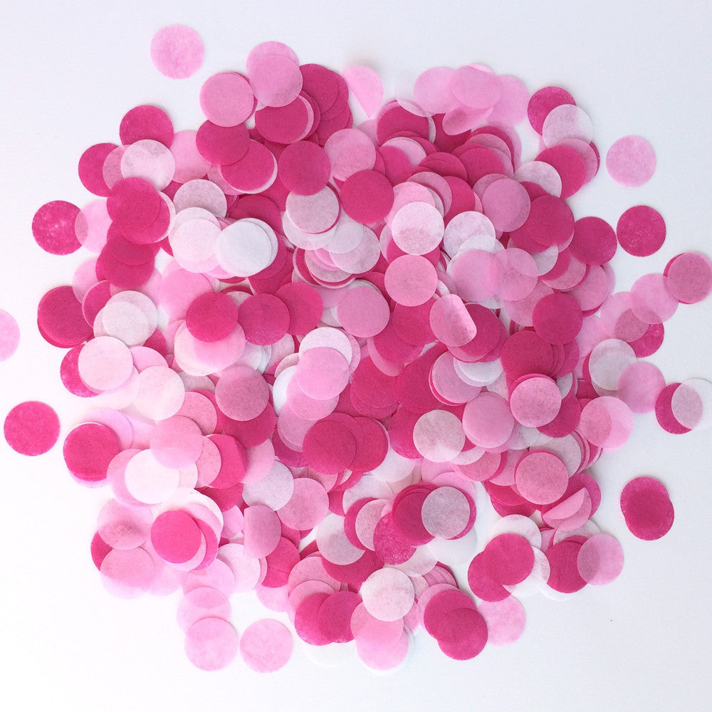 "Be Mine 3/4"" Circle Confetti"