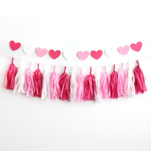 Be Mine Tassel Garland Kit
